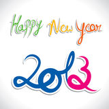 New Year Greeting Royalty Free Stock Images