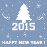 New Year greeting Stock Images