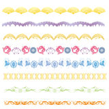 New year greeting border Royalty Free Stock Images