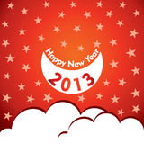 New Year Greeting Card,2013 Stock Photography