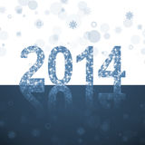 New 2014 year Stock Photography