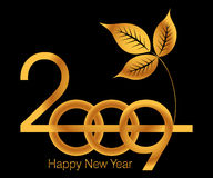 New Year greeting Card Royalty Free Stock Images
