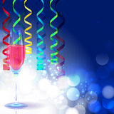 New Year Greeting Card Background Royalty Free Stock Image