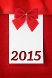 New year 2015 greeting card Stock Photo