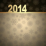 New Year greeting card. 2014 Happy New Year greeting card Royalty Free Stock Photo