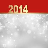 New Year greeting card. 2014 Happy New Year greeting card Royalty Free Stock Images