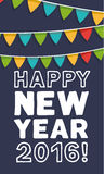 New Year greeting card. Royalty Free Stock Image