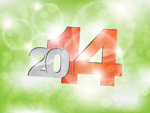 New year greeting card. With space for text. Happy new year Stock Images