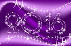 New Year greeting cards, postcards, card Happy New Year 2016 Royalty Free Stock Photo