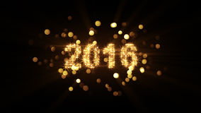 New year 2016 greeting Royalty Free Stock Images