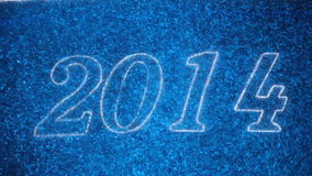 New Year 2014 stock video footage
