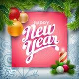 New Year Greeting Royalty Free Stock Photos