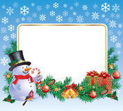 New Year greetings Stock Photo