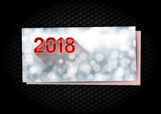 New Year Greetings card Royalty Free Stock Photo