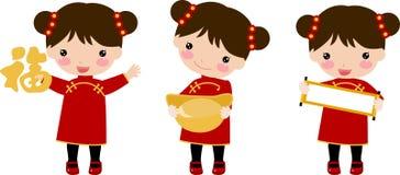 New Year Greetings_children Stock Image