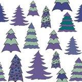 New year hand drawn pattern Stock Photo