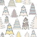 New year hand drawn pattern Stock Image