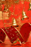 New-year handbells Royalty Free Stock Photo