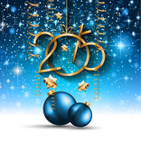 2015 New Year and Happy Christmas background for your flyers Stock Image
