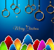 2015 New Year and Happy Christmas background Stock Photo