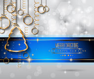 2015 New Year and Happy Christmas background. For your flyers, invitation, party posters, greetings card, brochure cover or generic banners Royalty Free Stock Images