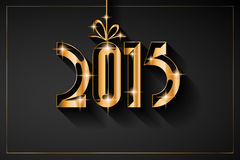 2015 New Year and Happy Christmas background Royalty Free Stock Images