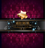 2015 New Year and Happy Christmas background. For your flyers, invitation, party posters, greetings card, brochure cover or generic banners Royalty Free Stock Photo