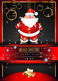 2015 New Year and Happy Christmas background. For your flyers, invitation, party posters, greetings card, brochure cover or generic banners Stock Photos