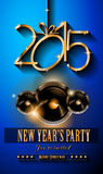 2015 New Year and Happy Christmas background. For your flyers, invitation, party posters, greetings card, brochure cover or generic banners Stock Photo