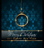 2016 New Year and Happy Christmas background for your flyers,. Invitation, party posters, greetings card, brochure cover or generic banners Stock Images