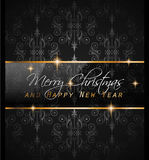 2016 New Year and Happy Christmas background. For your flyers, invitation, party posters, greetings card, brochure cover or generic banners Stock Images