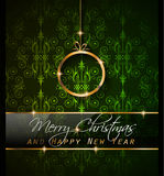 2016 New Year and Happy Christmas background Royalty Free Stock Photography