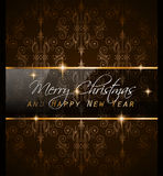 2016 New Year and Happy Christmas background. For your flyers, invitation, party posters, greetings card, brochure cover or generic banners Royalty Free Stock Images