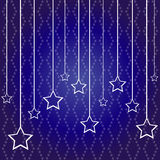 2016 new year. 2014 new year. Happy holidays background with stars Stock Illustration