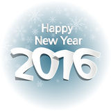 2016 new year. Happy new year 2016, web design source Royalty Free Stock Images