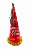 New Year Hat. New year  hat isolated on a white background Stock Image