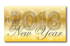 New year 2018 Stock Photo