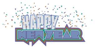New Year Heading Royalty Free Stock Photography