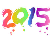 New year 2015. Here comes the new year ... 2015 Royalty Free Stock Image