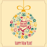 New year holiday background. Stock Photos