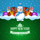 New year holiday background. Royalty Free Stock Photos