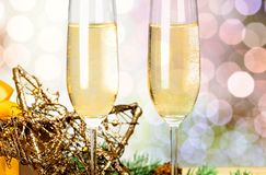 New year holiday drink Royalty Free Stock Photos