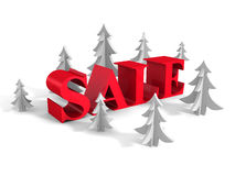 New Year Holidays Big Sale Concept Word Stock Photography