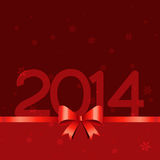 New year holidays. Happy new year 2014 holiday design with space for your text Royalty Free Stock Photo