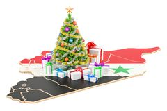 New Year holidays in Iraq concept. 3D rendering Royalty Free Stock Photography