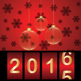 New year. The hope of a new year Vector Illustration