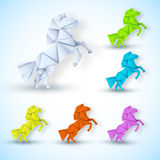 New year Horse background concept. vector. Illustration tamplate for your design Royalty Free Stock Images