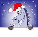 New year horse Royalty Free Stock Photo