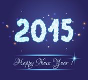 2015 new year Royalty Free Stock Photos