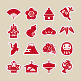 New Year icon Stock Photo